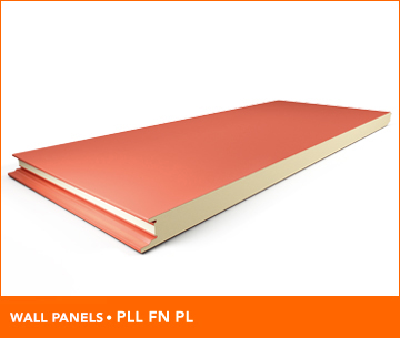 Steel insulated metal clad panels | Marcegaglia Buildtech