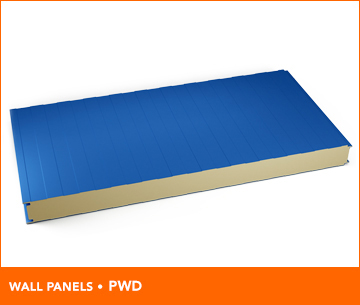 Mineral wool insulated wall panels marcegaglia buildtech for Rockwool insulation panels