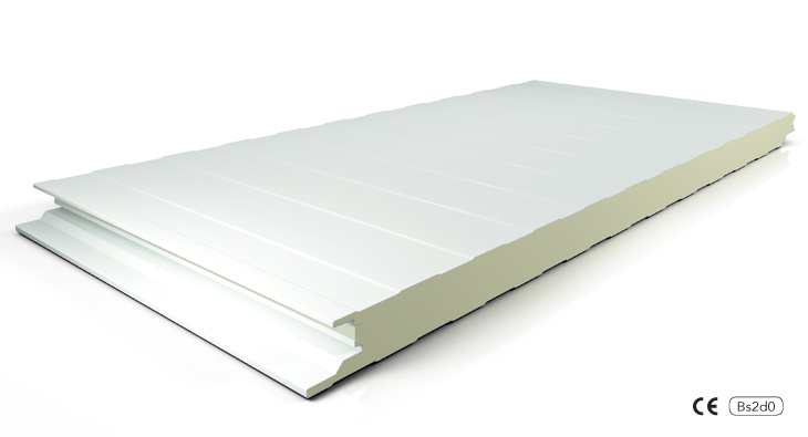 insulated wall panels with concealed fasteners
