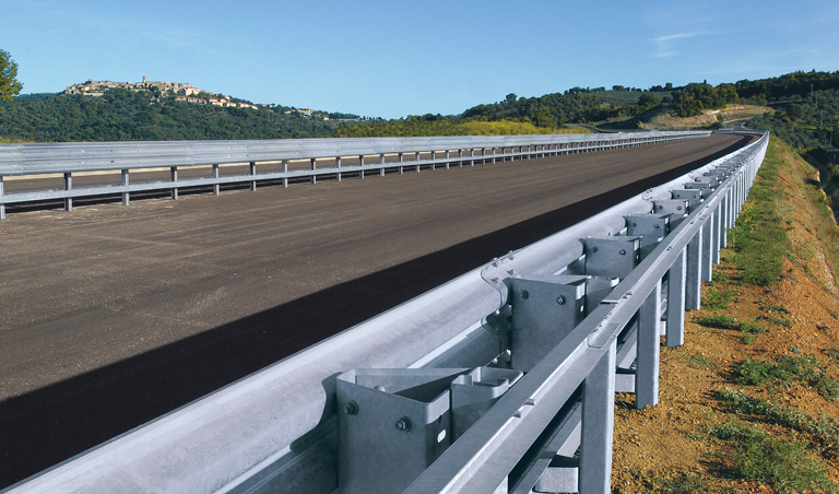 Guardrails road safety barriers marcegaglia buildtech