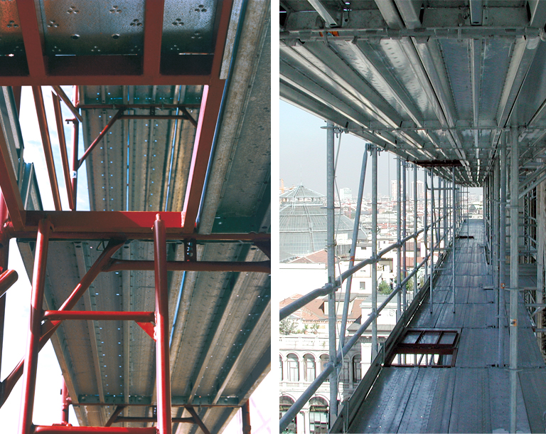 Metal Deck Planks For Scaffolding And Construction Sites